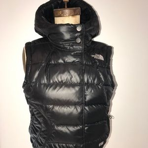 Women's Small North Face Puffy Vest